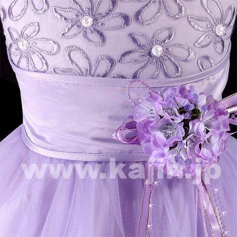 パールがキラキラシルエットが美しい高級プリンセスドレス「ライラック」