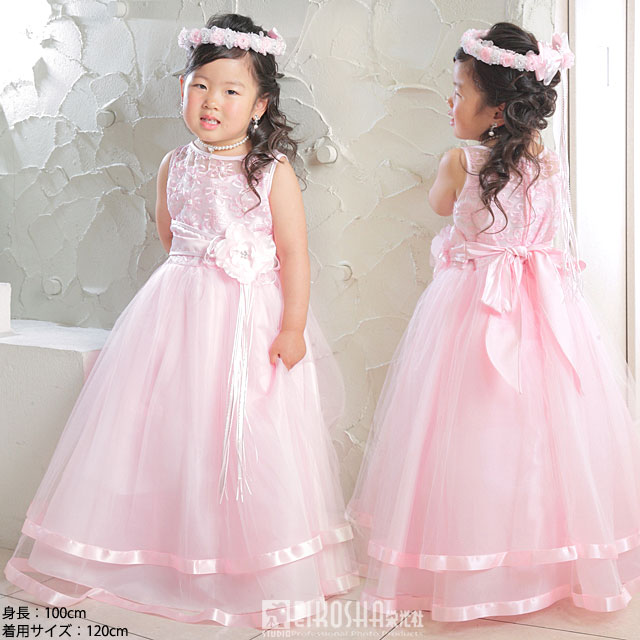 高級プリンセスドレス/ピンク