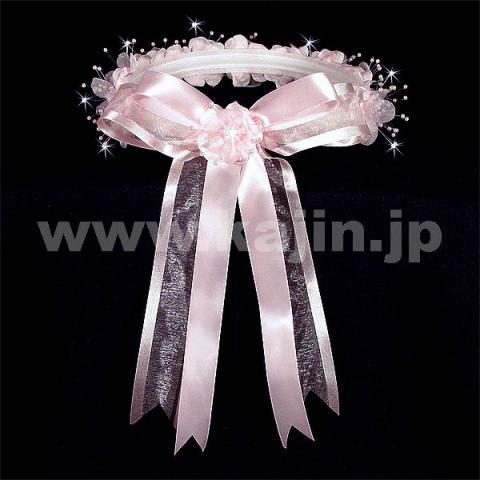 子供ドレス用ヘッドクラウン「ピンク」