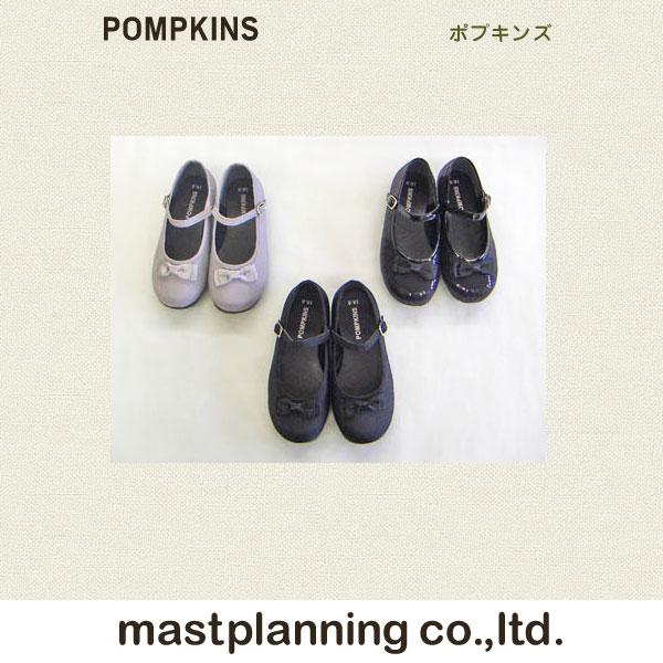 POMPKINS サテンリボンフォーマルシューズ [15cm〜21cm] 在庫限りアウトレット特価