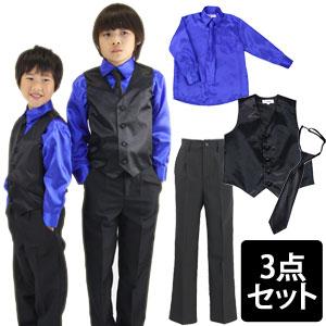 533b7559b4665 割引対象外商品です 子供 黒 シャツ 男の子 ネクタイ付き子供カッター ...